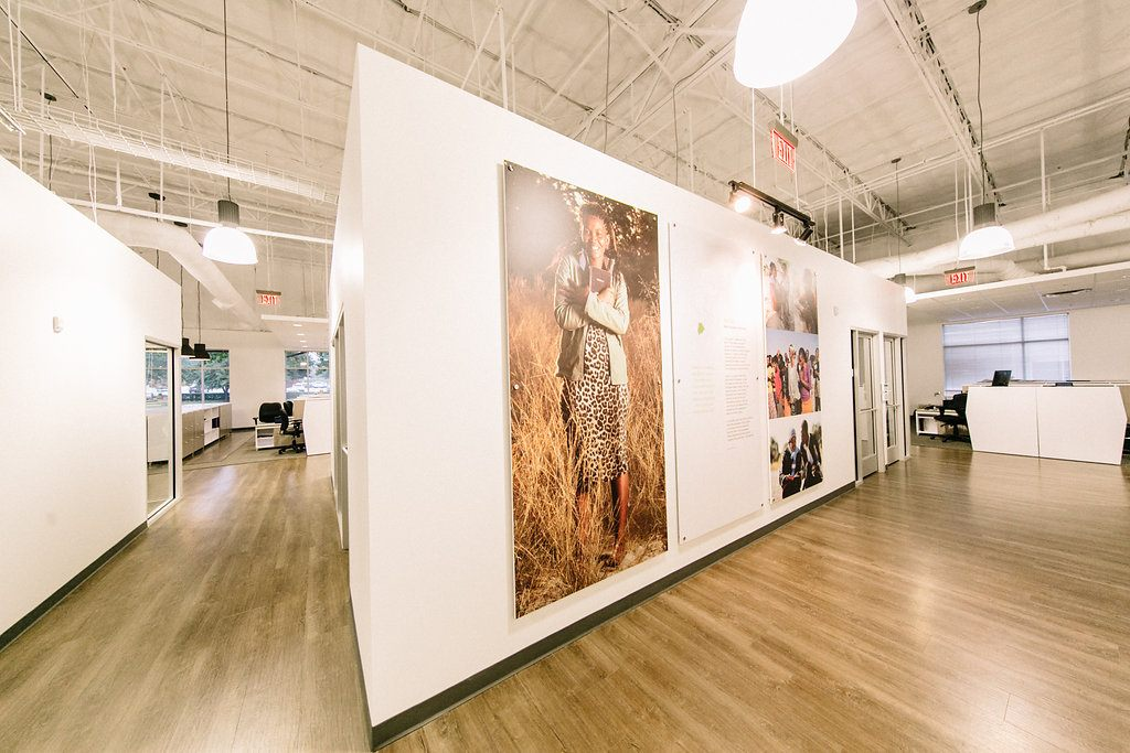 The Seed Company - Gordon Highlander - Office Interior Project - Art Walls
