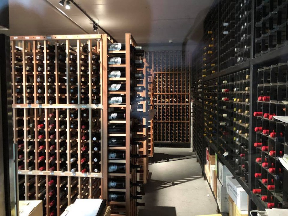 Al Biernat North wine room