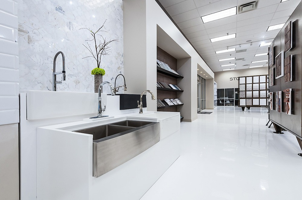 Elements Showroom kitchen options