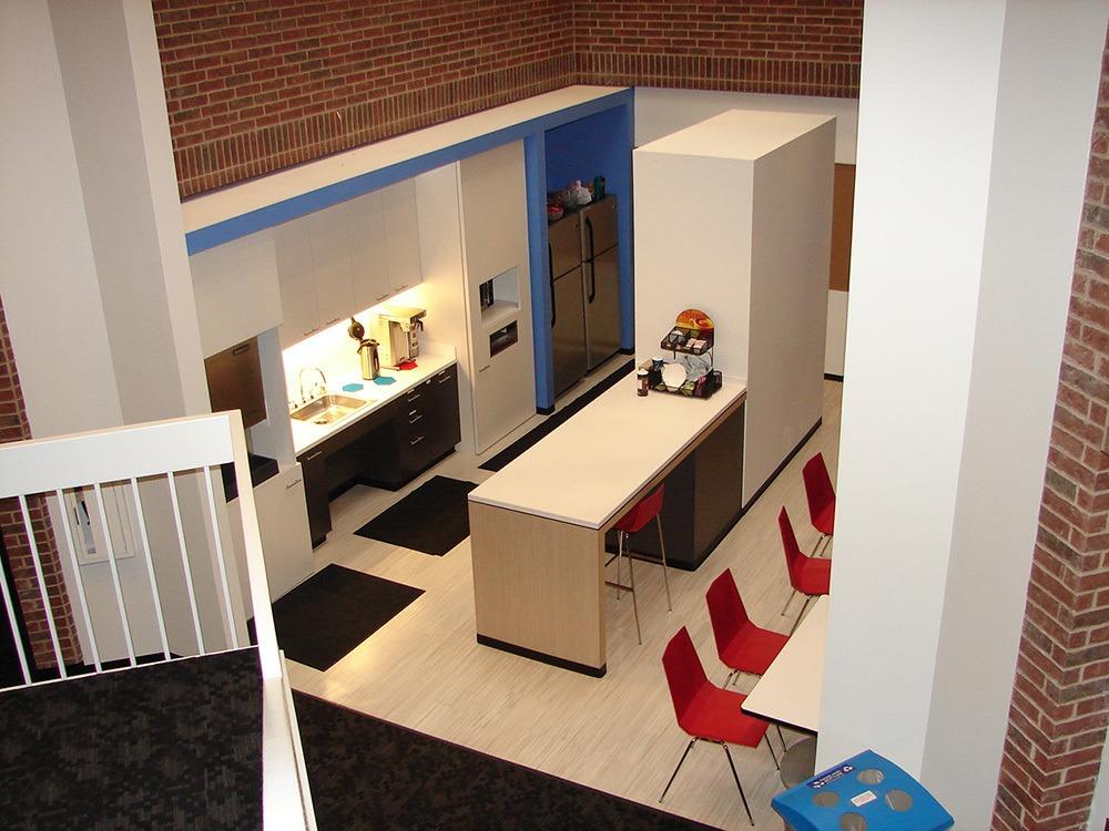 Michaels Corporate - Gordon Highlander Office Restack Project - Breakroom