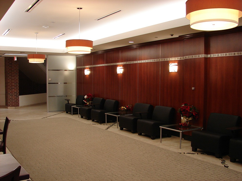 Michaels Corporate - Gordon Highlander Office Restack Project - Waiting Room