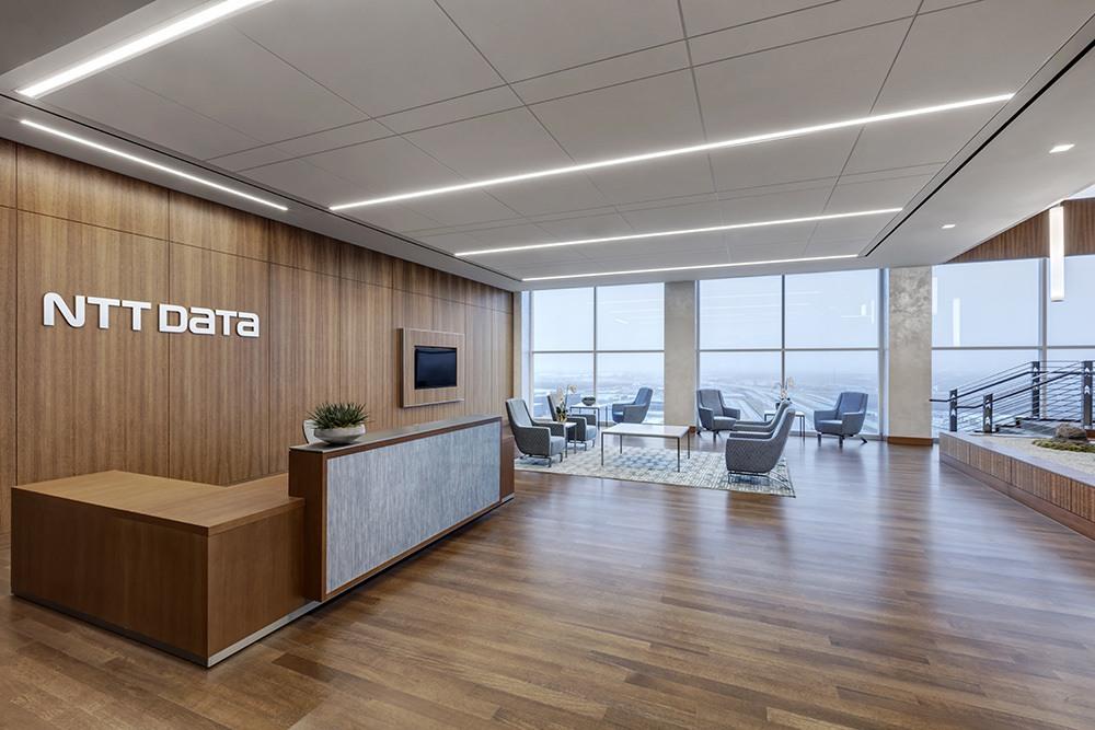 NTT Data - Gordon Highlander - Project - Receptionist Desk