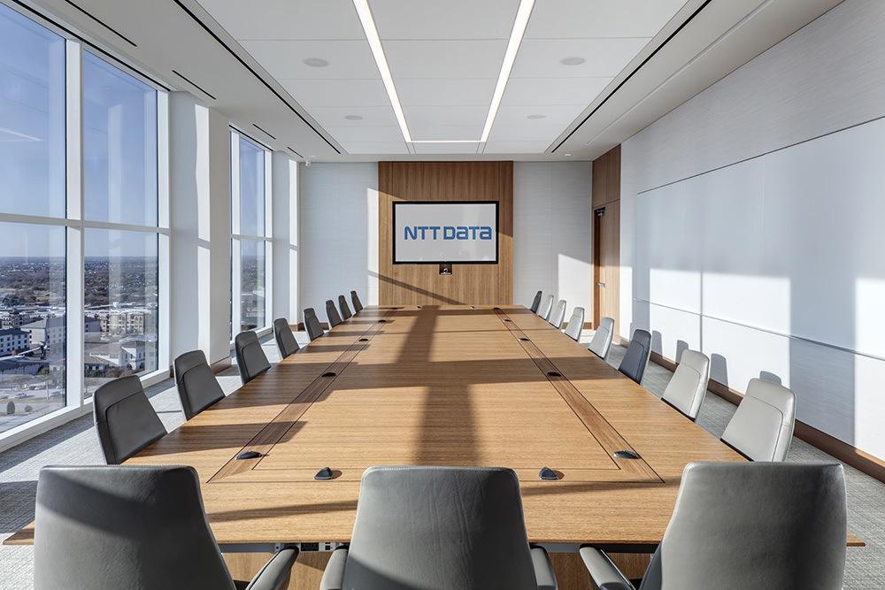 NTT Data - Gordon Highlander - Project - Conference Room